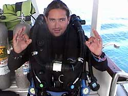 dive instructor playa del carmen